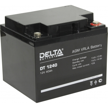 Delta DT 1240 Аккумулятор