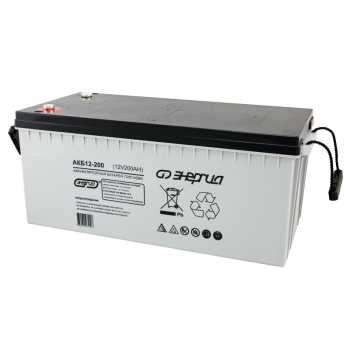 Энергия АКБ-12-200