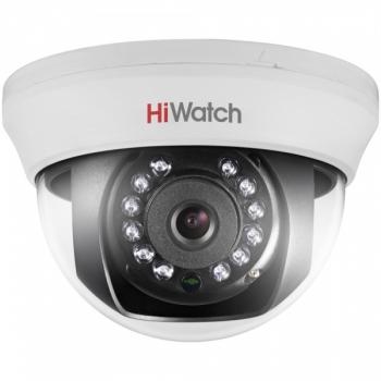 HiWatch DS-T201 (6 mm) купольная HD-TVI камера