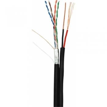 NETLAN  EC-UF004-5E-PC075-PE-BK кабель для внешней прокладки 305 метров