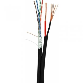 NETLAN  EC-UF004-5E-PC150-PE-BK  кабель для внешней прокладки 305 метров