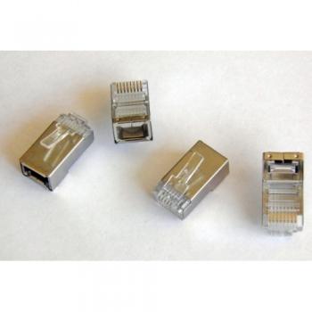 NETLAN  коннектор экранированный RJ45 (8P8C) 5e UTP FTP (1 шт)