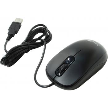 Genius DX-110 Black, Мышь  оптическая, 1000 dpi, 3 кнопки, USB